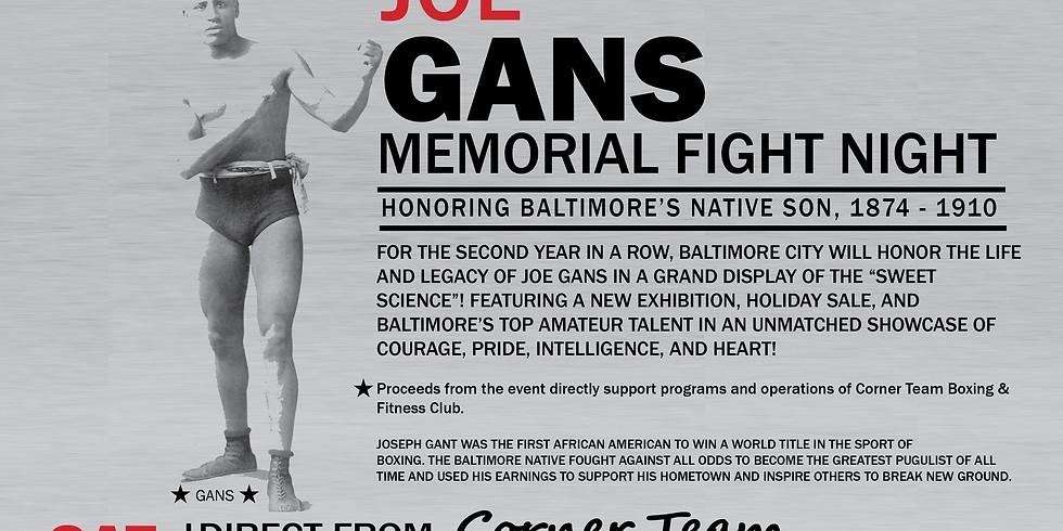 "2nd Annual ""Old Master"" Celebration: Joe Gans Memorial Fight Night"