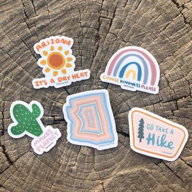 Arizona Mini Sticker Pack