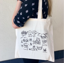 Tucson Icon Map Tote Bag