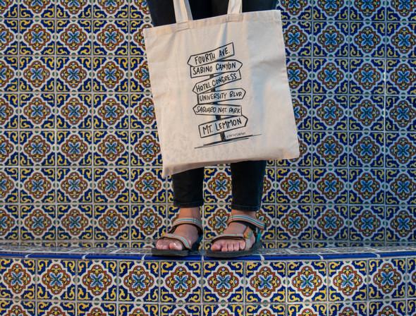 Sign Post Tote Bag
