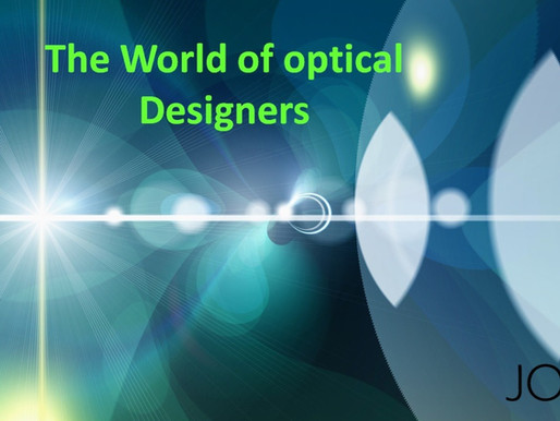 The World of the Optical Designer  Starting Point