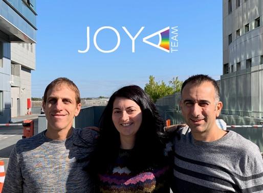 JOYA Team – Welcoming our team-mate