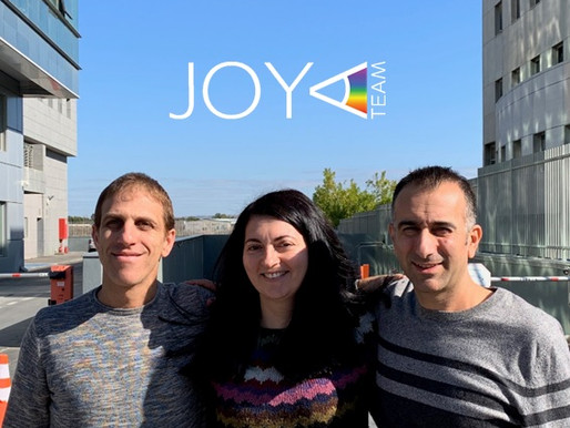 JOYA Team – Welcoming our team-mate