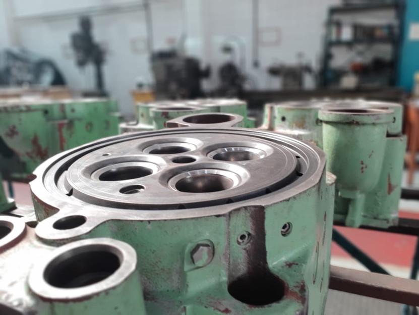 Cylinder head overhaul