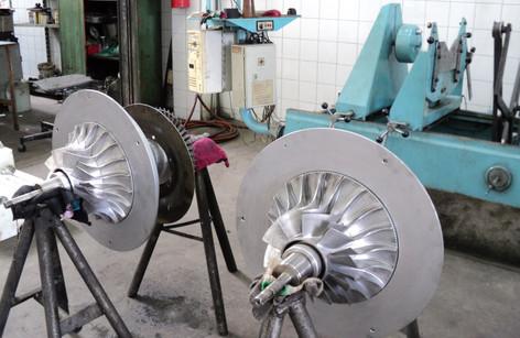 Overhaul turbo ABB VTR 254