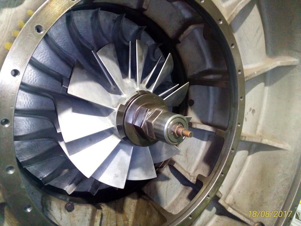 Overhaul turbo MAN NA 48