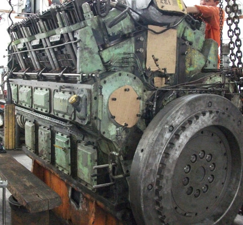 Overhaul MAN B&W 8V23