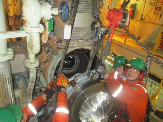Overhaul turbo ABB TPL69