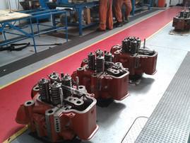 Zylinderkopfüberholung MaK M32