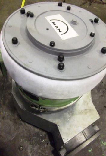 Overhaul turbo MAN NR15