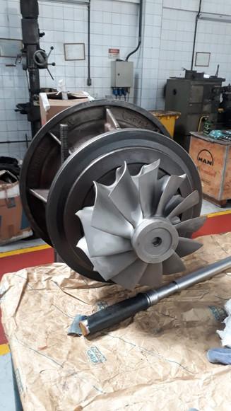 Overhaul turbo ABB TPS 57