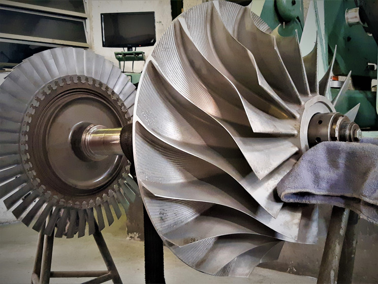 Overhaul turbo MET53SC