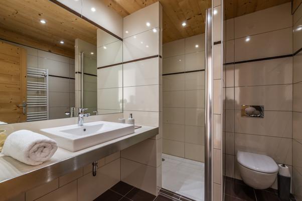 Ourson, salle de douche 4.