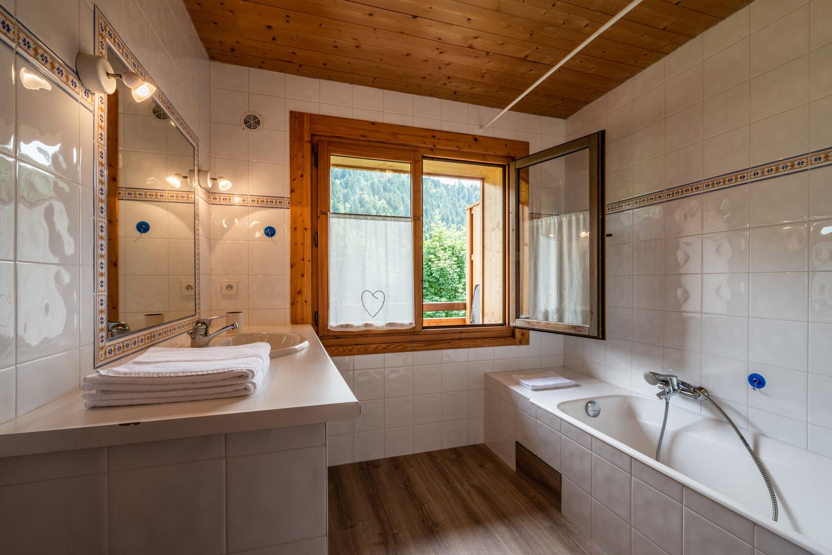 Bouquetin, salle de bain.