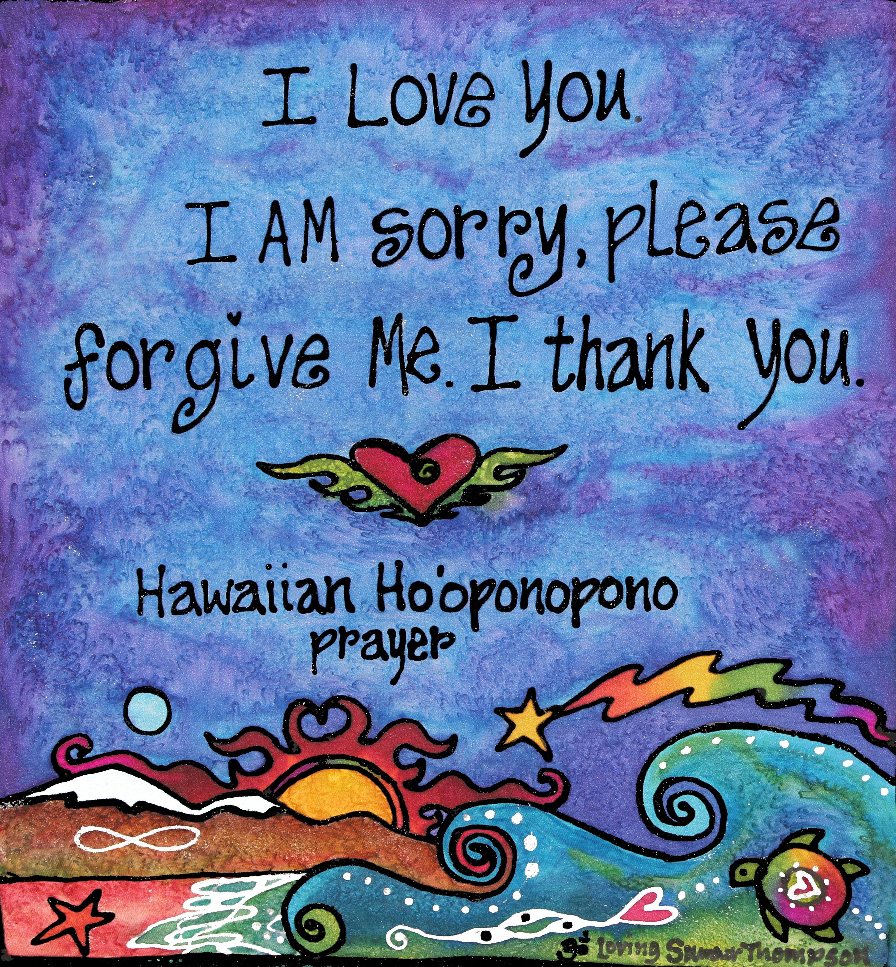 hawaiian ho'oponopono prayer