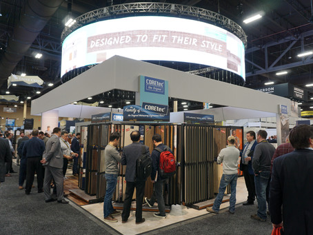 Surfaces Attendees Floored By DisplayCraft Designs
