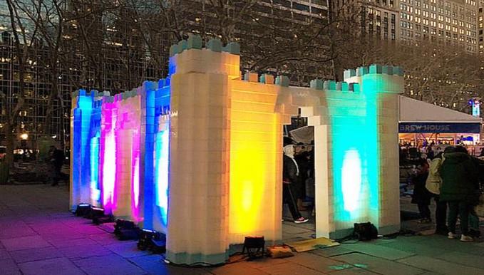 Modular Ice Castle