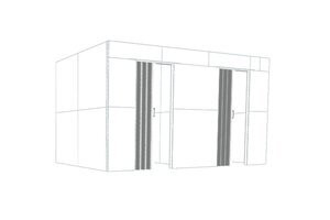 Double Rooms with Divider Walls