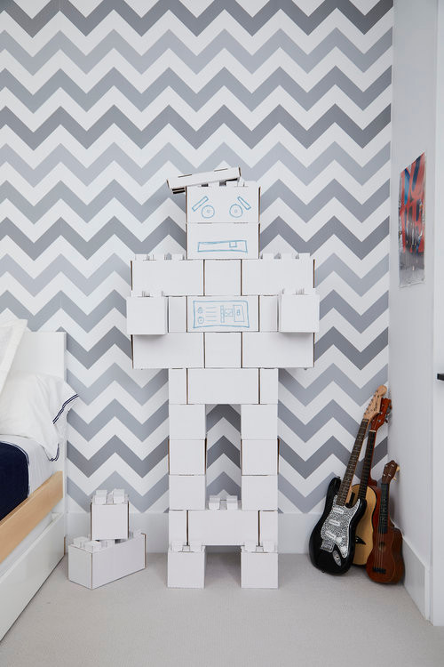 Robot in Kids Room