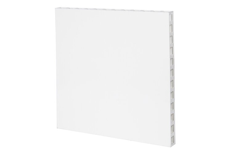 White Frame with White Panel
