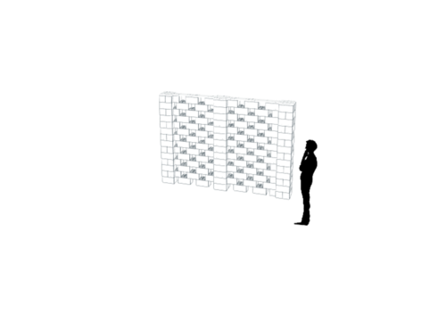 Stagger Pattern Walls