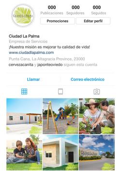Preview de perfil social