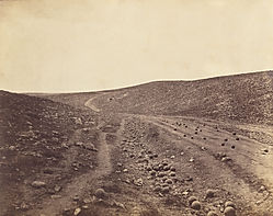 'The Valley of The Shadow of Death', by Roger Fenton