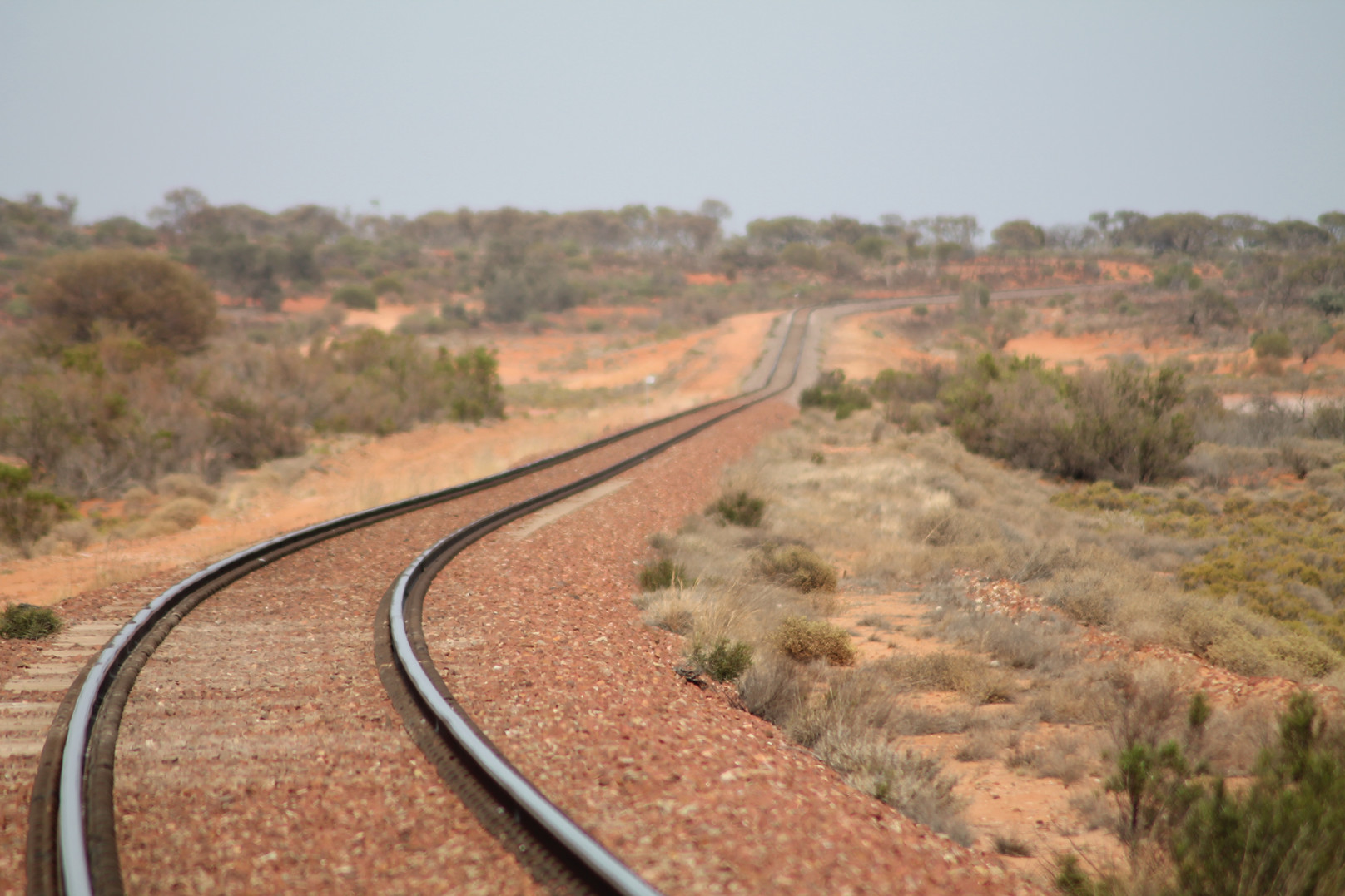 Ghan Railroad, SA