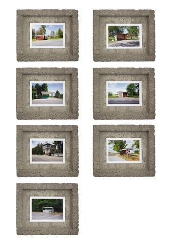 Set in Concrete Brutalist Frames