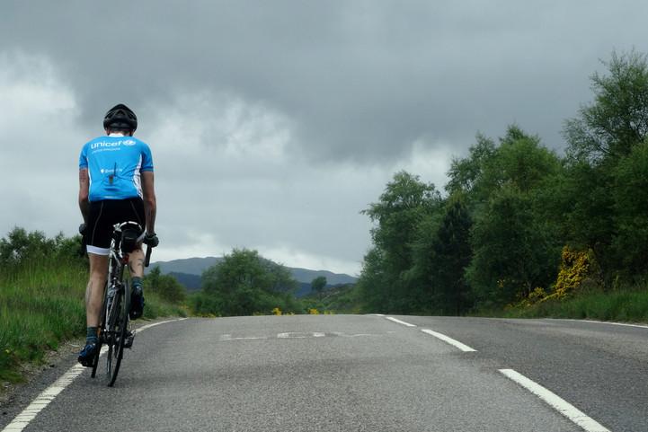 John O'Groats to Lands End, Scotland