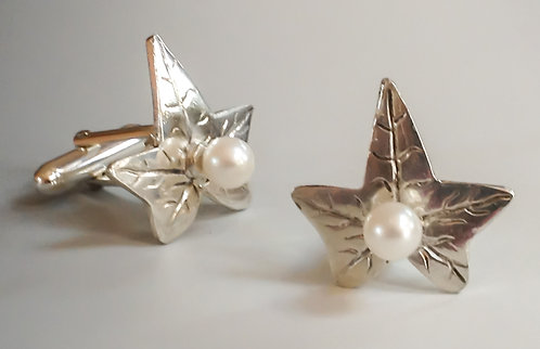 Pearl Ivy Cufflinks