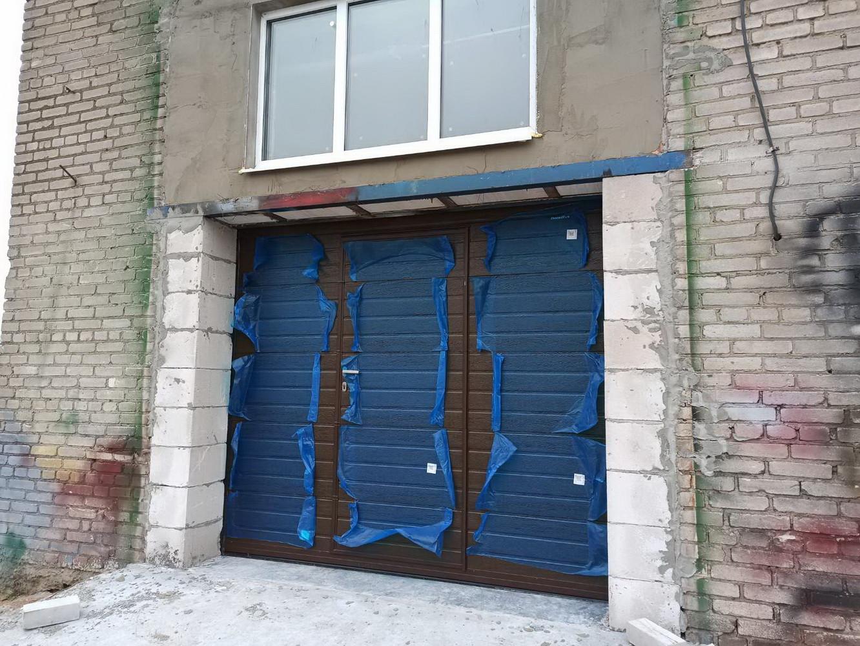 Секционные ворота в Могилеве. Гомельское ш.
