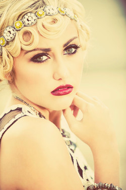 Gatsby Inspired Makeup and Hair