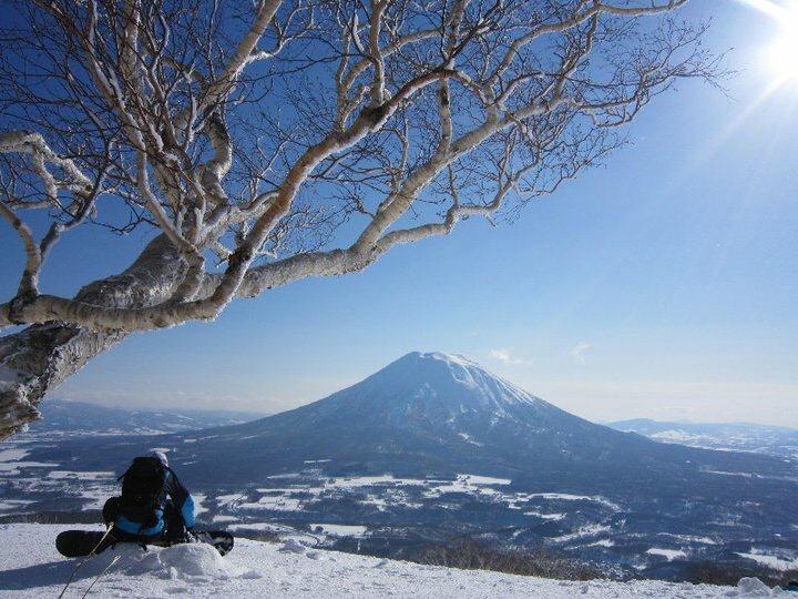 羊蹄山 winter