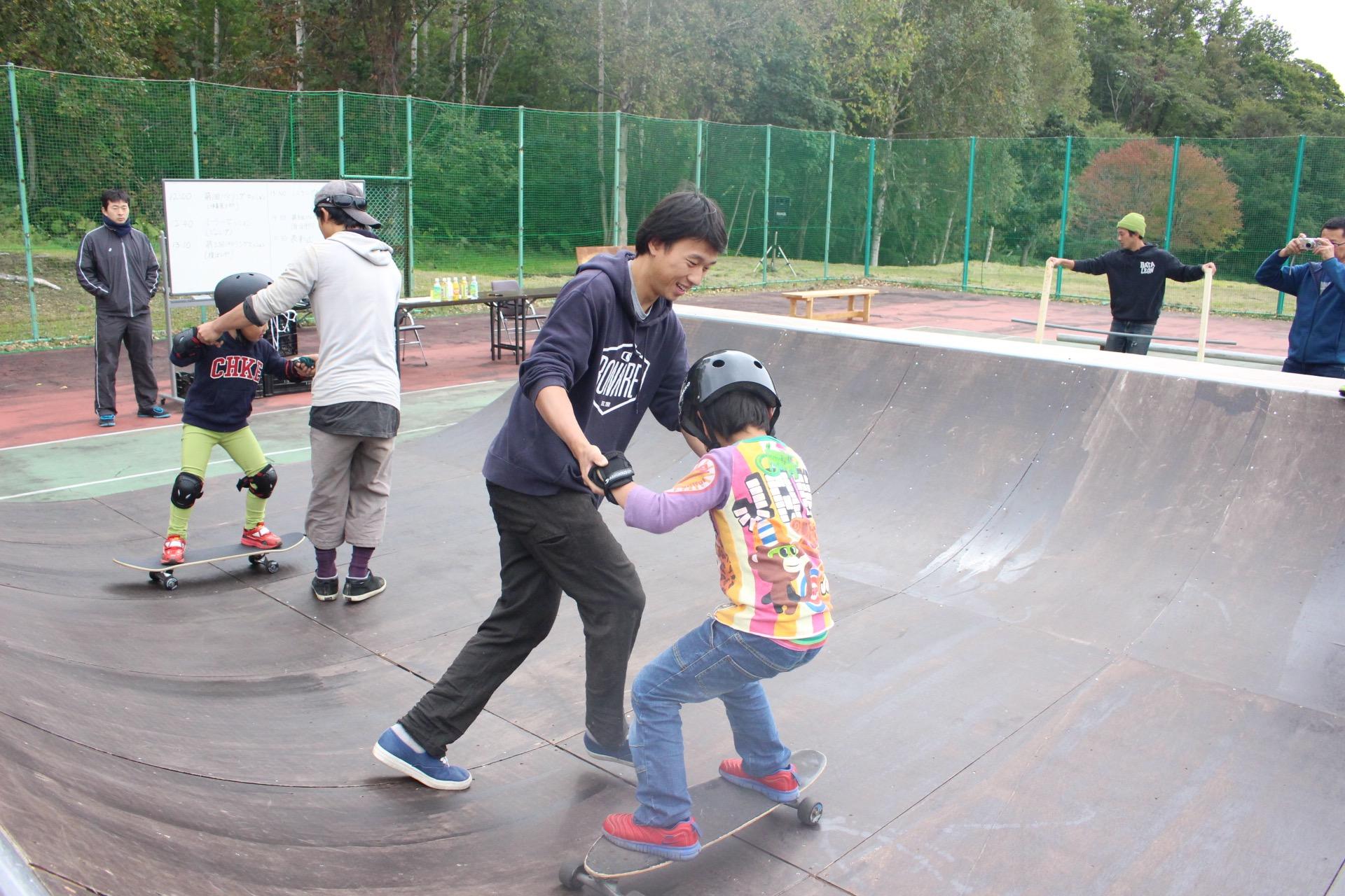 スケートボードイベントの様子(2016)
