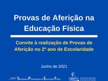 Realização de Provas de Aferição de Educação Física no Ano Letivo 2020/2021