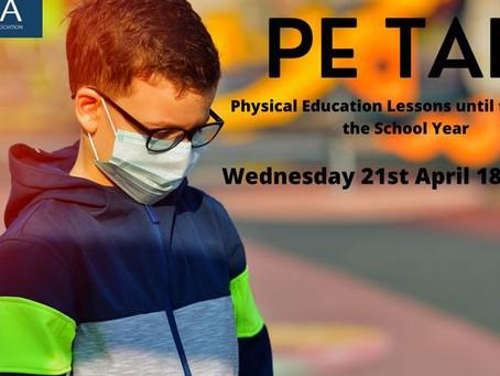 Marque o dia 21 abril na sua agenda - Webinar EUPEA - A EF até ao final deste ano escolar