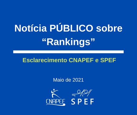Esclarecimento da SPEF e CNAPEF sobre recente notícia no Jornal Público