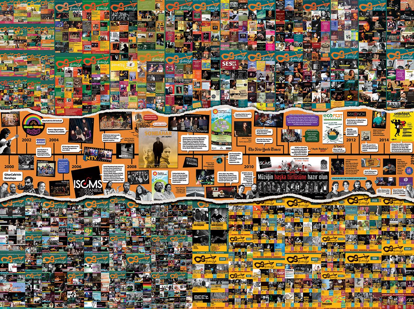 182 x 244 cm ebatlarında dev poster