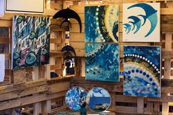 Eco-Art eserlerinden bazıları
