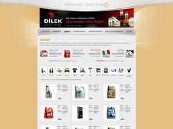 ETİKET CENTER WEB SİTESİ