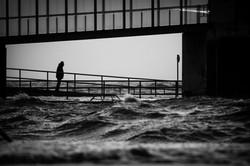 Sturmflut Dagebüll 2015