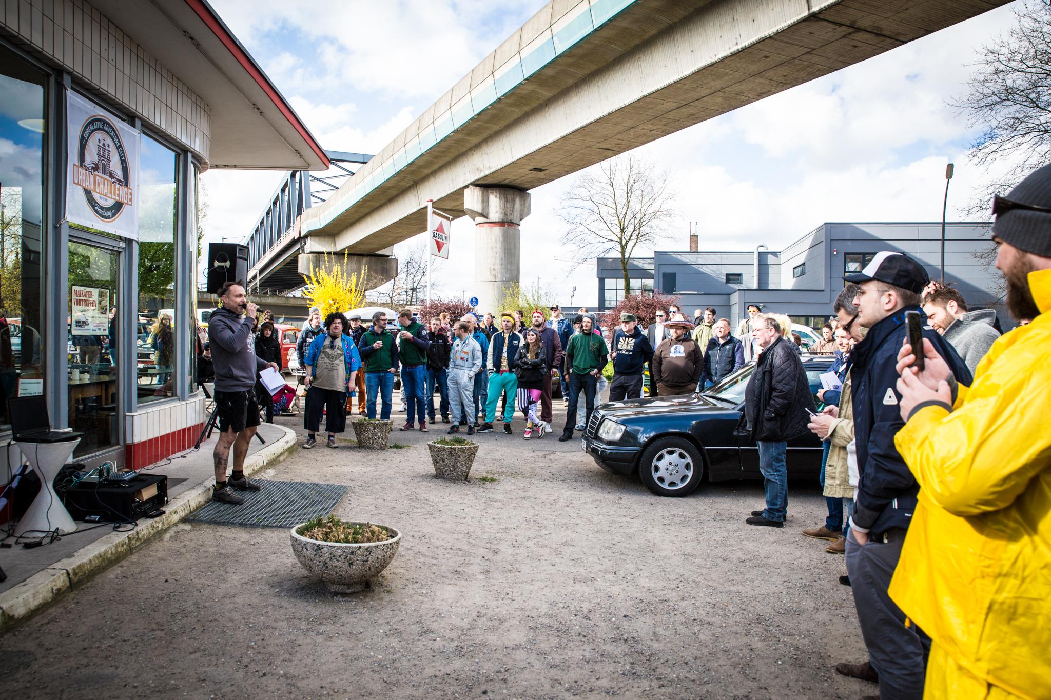 SAC - Urban Challenge Hamburg 4/2016
