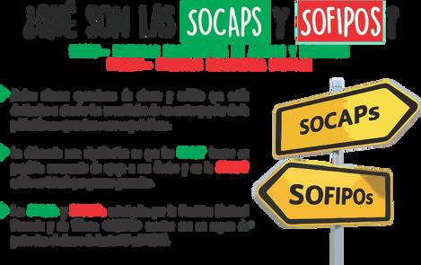 Diferencias entre SOCAPs y SOFIPOs