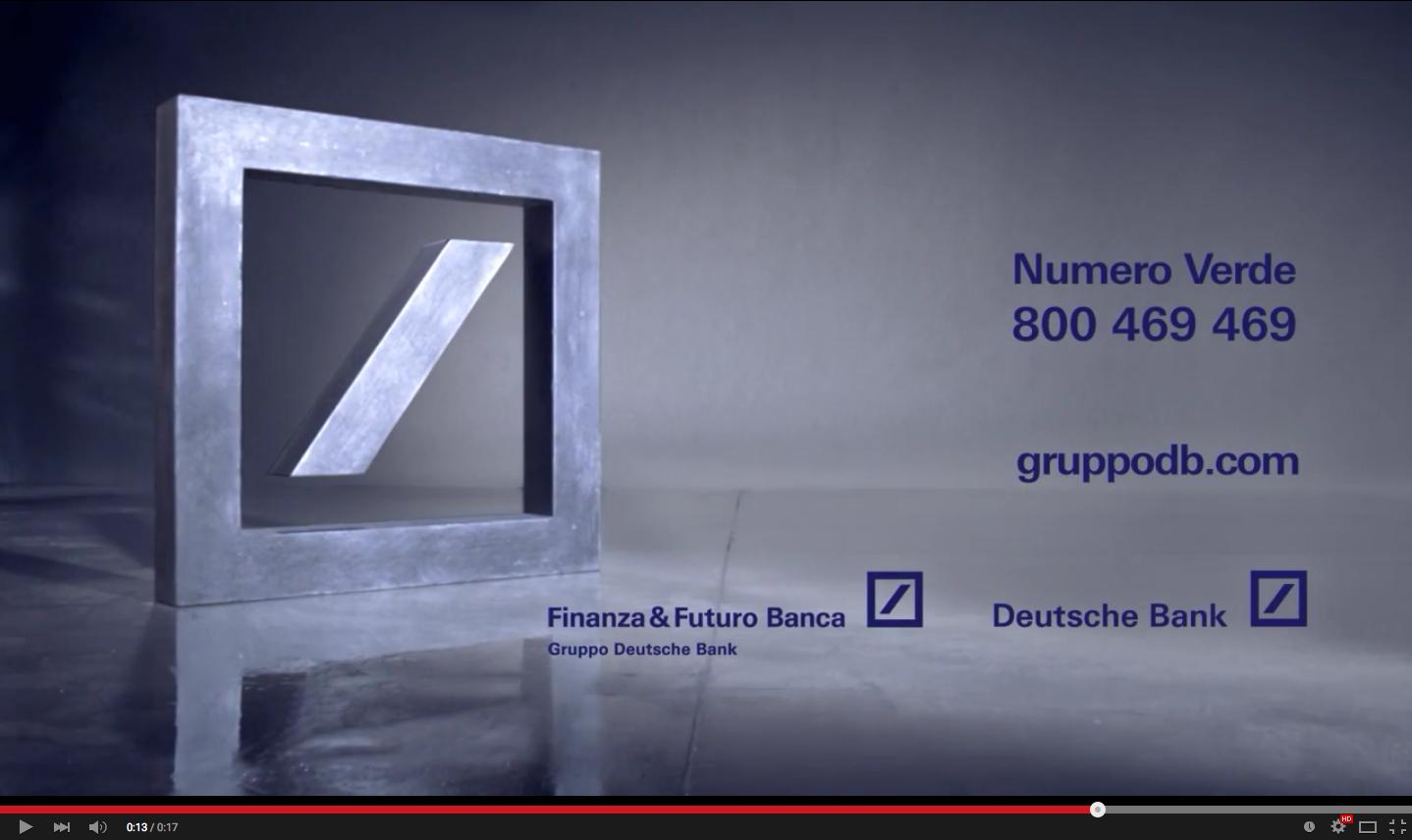 Deutsche Bank - Spot tv
