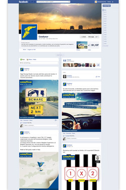 Goodyear Italia - FB fan page.