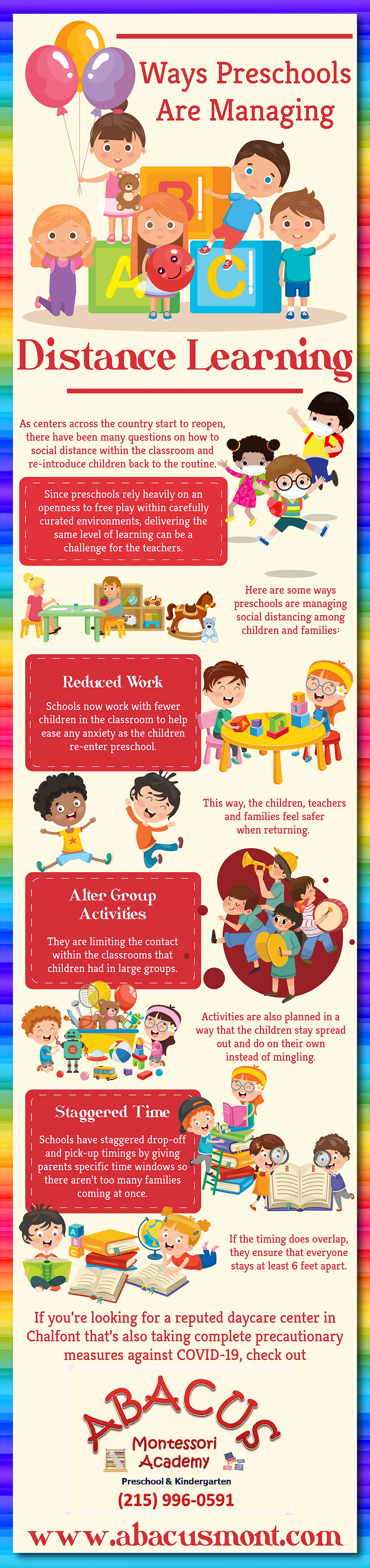 Ways Preschool Are Managing Distance Learning
