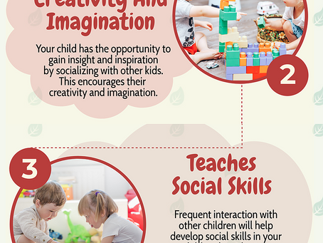 Benefits Of A Social Environment For Toddlers