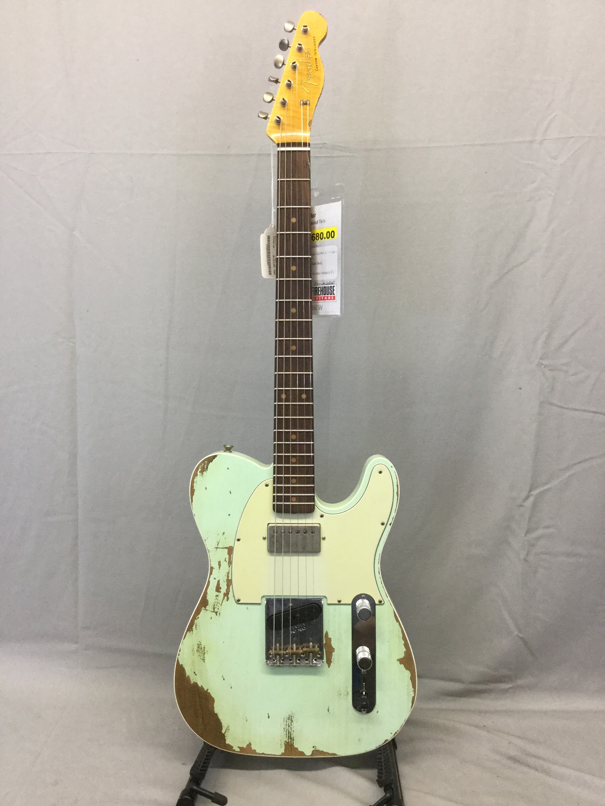 Firehouse Guitars Grandville Instrument Sales Lessons This Gives You The Usual Tele Sounds In First Three Positions But 60s Super Faded Aged Hb Custom Heavy Relic Summer Event Limited Edition