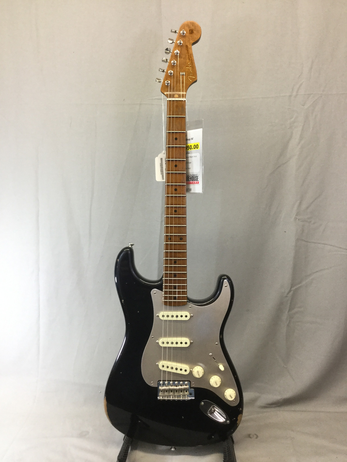 Firehouse Guitars Grandville Instrument Sales Lessons Guitar Kill Switch Wiring As Well Fender Custom Shop 56 Fat Roasted Relic Strat Mid Year Limited Edition Aged Black